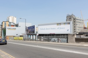 James Pendleton Estate Agents South West London Billboard Wandsworth Bridge Road